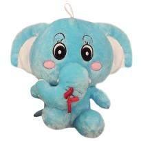Blue Cute Elephant