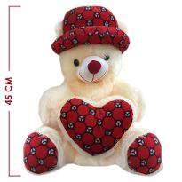 Large Cream Teddy Bear