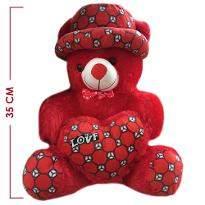 Medium Red Teddy Bear