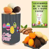 Easter Colorful Almond Eggs