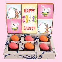 Assorted Colorful Easter Eggs