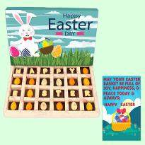 Happy Easter Choco Pieces