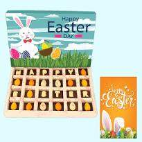 Happy Easter Chocolate Pieces