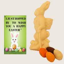 Easter White Choco Bunny Eggs