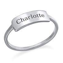 Personalised Ring for Love
