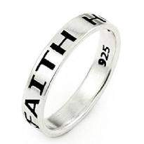 Faith Love Ring