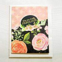 Fabulous Mom Greeting Card