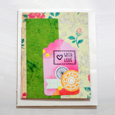 Buy With Love Greeting Card