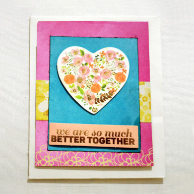 Buy Better Together Greeting Card