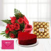 1 Cake And Flowers Delivery In Pune Order Send Online Now