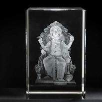 Lord Ganesha Crystal Item
