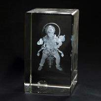 Lord Hanuman Crystal Item