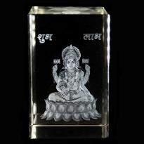 Goddess Laxmi Crystal Item