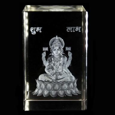 Buy Goddess Laxmi Crystal Item