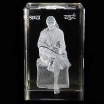 Sai Baba Crystal Item