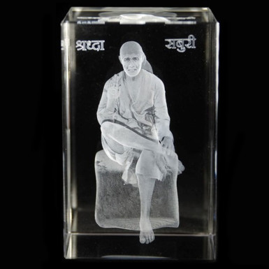 Buy Sai Baba Crystal Item