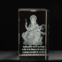 Goddess Saraswati Crystal Item