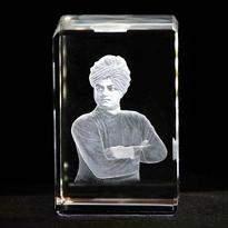 Swami Vivekanand Crystal Item