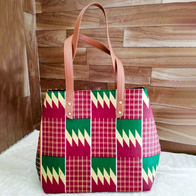 Buy Geometric Art Handbag