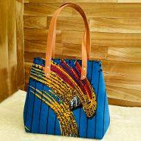 Vibrant Print Handbag