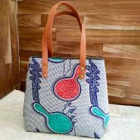 Artistic Print Handbag