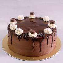 Exotic Chocolate Truffle Cake