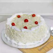 Delightful White Forest Cake