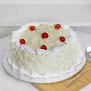 Buy Delightful White Forest Cake