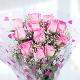 Buy Perfect Love A bouquet of  Pink Roses
