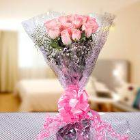 Pretty Bunch of Pink Roses