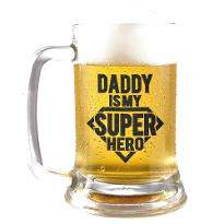 Super Hero Dad Beer Mug