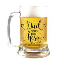 First Super Hero Beer Mug