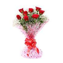 8 Red Roses