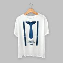 White Father T shirt