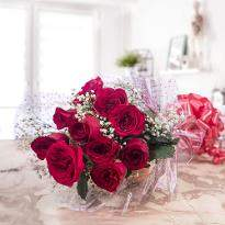 Graceful Red Roses
