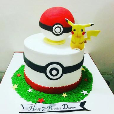 Buy Pokemon Fondant Cake