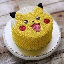 Creamy Pokemon Cake