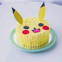 Happy Pokemon Cake