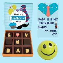 Love You Smart Father Chocolate