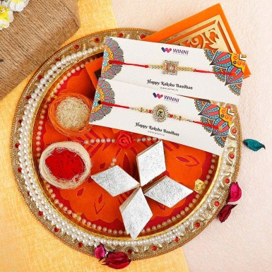 Buy Yummy Treat with Rakhi