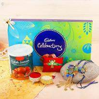 Cheerful Rakhi Delight