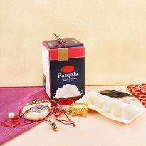 Sweet delights with Rakhi