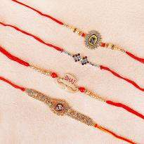 Four Rakhi For Four Brothers