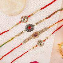 Artistic Essence Rakhi Set