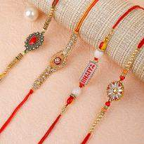 An Attractive Rakhi set