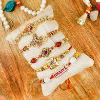 Set of 5 Rakhi for Bhai