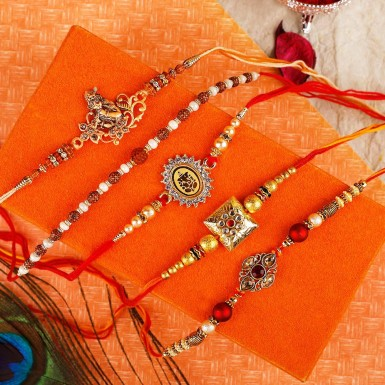Buy Beautifully Designed Rakhi for brother