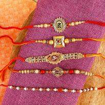 Multicolor Rakhi for Your Brothers