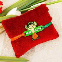 Chota Bheem Rakhi in a Three colors for Your Bhai