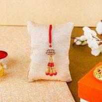 Red Color Lumba Rakhi